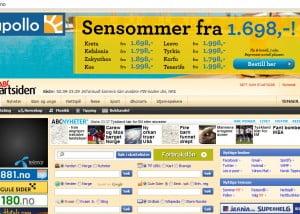 Startsiden.no er i dag en av Norges største nettkataloger og startsider.