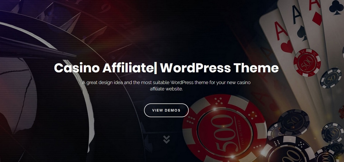 Casino affiliate theme til WordPress